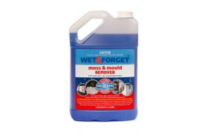 Wet & Forget has a unique combination of biodegradable selective surfactants for moss, mould and lichen removal on absolutely any exterior surface. When diluted with water and applied, it immediately attacks that unsightly moss, mould and grime. Then Mother Nature takes over.
