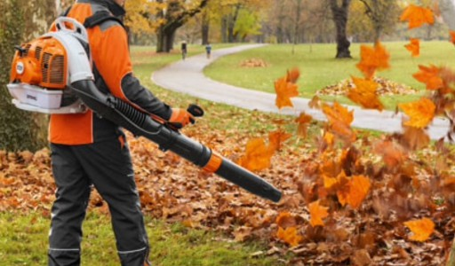 The new push button start STIHL BR 450 C-EF blower